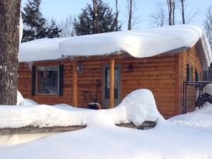 Cabin Snow 16